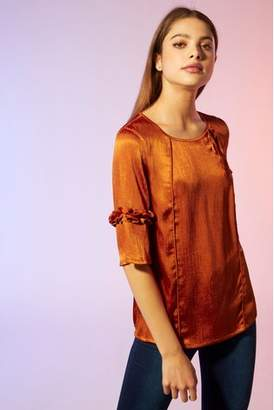Next Womens Yumi Tie Detail Blouse