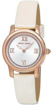 Pierre Cardin Women's Quartz Watch PC104672F04 PC104672F04 with Leather Strap