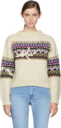 Etoile Isabel Marant Off-White Elsey Sweater