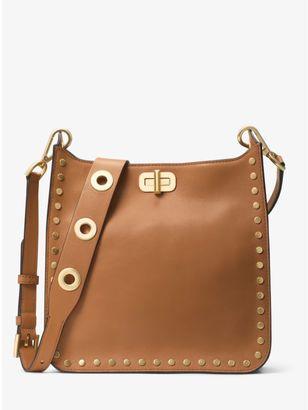 Sullivan Medium Leather Messenger $368 thestylecure.com