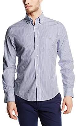e5c0a5de Gant Men's The Broadcloth Banker Stripe Slim Fit Button Down Shirt