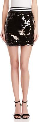 Mustard Seed Varsity Paillette Skirt