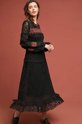 Stella Forest Noir Lace Dress