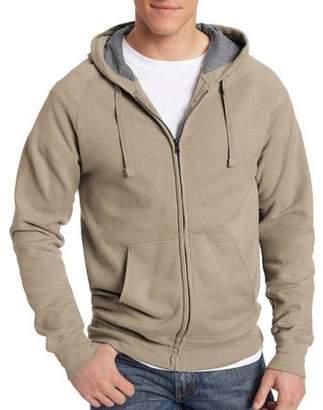 Hanes Men's Big Nano Premium Soft Lightweight Fleece Full Zip Hoodie