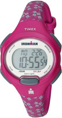 Timex Women's TW5M07000 Ironman Essential 10 Mid-Size Resin Strap Watch