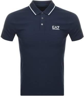 Emporio Armani EA7 Core ID Polo T Shirt Navy