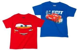 Disney Boys' Assorted Two Pack Short Sleeve T-Shirt Bundle