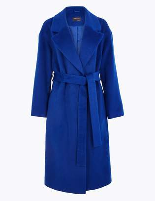 M&S CollectionMarks and Spencer Belted Wrap Coat