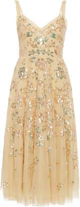 Needle & Thread Valentina Sequin Tulle Dress