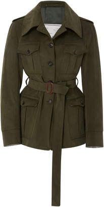 Giuliva Heritage Collection Sahariana Belted Cotton-Twill Jacket