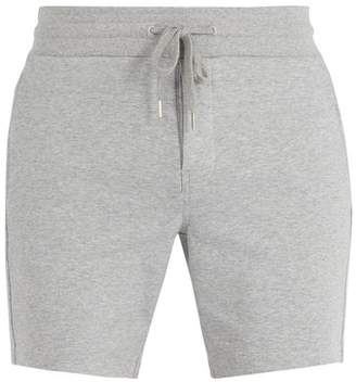 Frescobol Carioca - Drawstring Waist Cotton Blend Shorts - Mens - Grey
