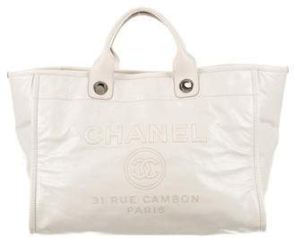 Chanel 2016 Glazed Large Deauville Tote