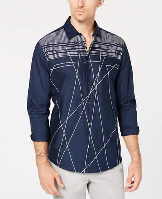 Alfani Men's Clifton Line Drop Shirt