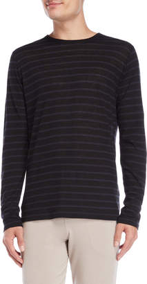 Majestic Filatures Stripe Long Sleeve Tee