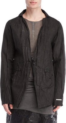 Army Of Me Toggle Crinkled Blazer