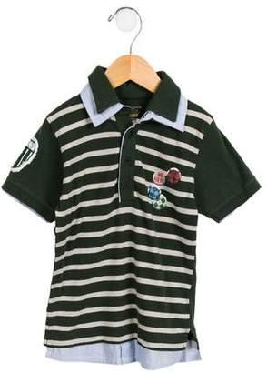 Ikks Boys' Layered Polo Shirt