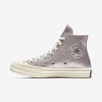 Converse Chuck 70 Heavy Metallic Leather High Top Womens Shoe