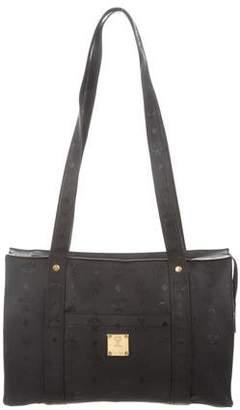 d4b6b113cd MCM Canvas Leather Shoulder Bag