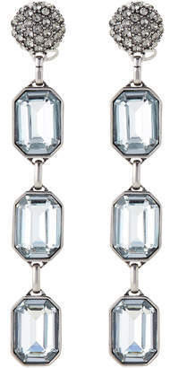 Marc Jacobs Antique Silver-Tone Dangle Earrings