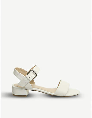 Office Morgan faux-suede block heel sandals