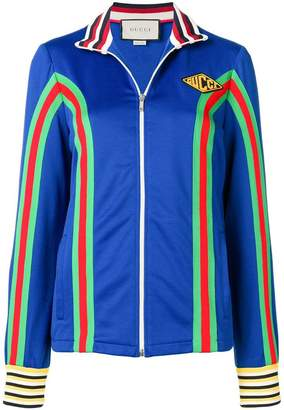 Gucci technical stripe jacket