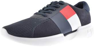 Tommy Hilfiger Lightweight Logo Trainers Navy