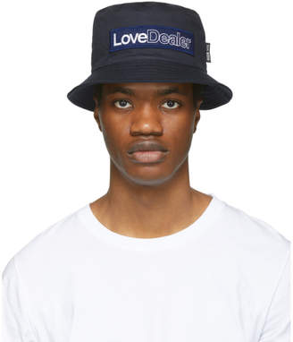 Golden Goose Navy Love Dealer Pacey Hat
