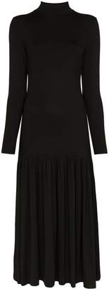 Ninety Percent dropped waist midi dress