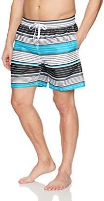 a9a7d2d85fc58 at Amazon.com · Kanu Surf Men's Havana Elastic Waist Swim Trunks