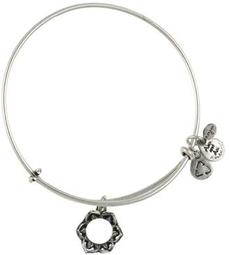 Alex and Ani Queen's Crown Expandable Wire Bracelet