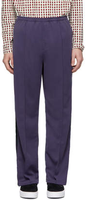 Needles Purple Side Line Lounge Pants