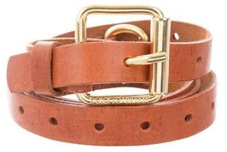 Dolce & Gabbana Double Wrap Belt