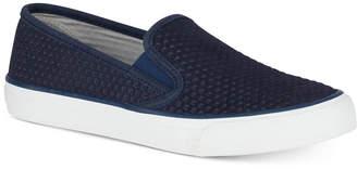 Sperry Women Seaside Embossed Memory-Foam Fashion Sneakers Women Shoes