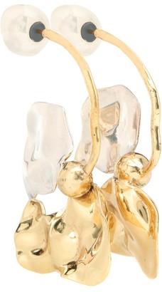 Ellery Chess Warped Collage earrings