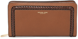 Michael Kors Collection Skorpios Continental Wallet $395 thestylecure.com