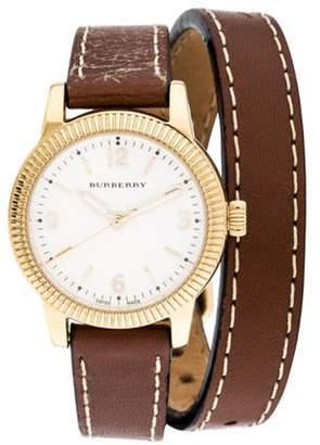 Burberry Utilitarian Watch Yellow Utilitarian Watch