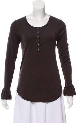 Chaser Long Sleeve Scoop Neck Top