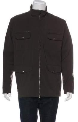 Isaia Wool-Blend Cargo Jacket