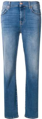 7 For All Mankind relaxed skinny slim illusion figueroa jeans