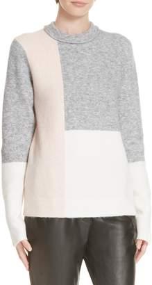 3.1 Phillip Lim Patchwork Wool & Alpaca Blend Sweater