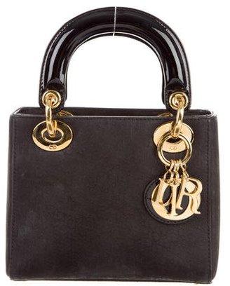 Christian Dior Mini Lady Dior Bag $995 thestylecure.com