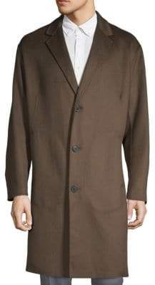 Theory Reish Double-Faced Cashmere Coat