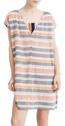 Madewell Towel Stripe Cover-Up Tunic