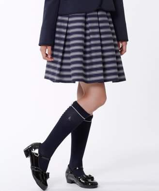 Kumikyoku (組曲) - 組曲 KIDS 【PURETE】グログランボーダー スカート(C)FDB