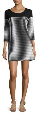 Joie Soft Joie Alyce Stripe Dress $188 thestylecure.com