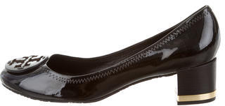 Tory BurchTory Burch Patent Leather Logo-Embellished Pumps