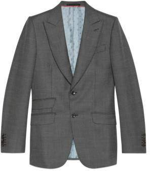 Gucci Mitford wool jacket with Magician