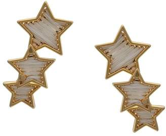 Mignonne Gavigan threaded star earrings