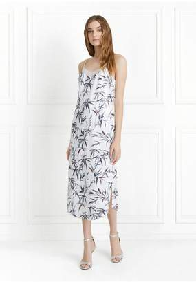 Rachel Zoe Scarlet Bamboo Printed Sequin Slip Dress