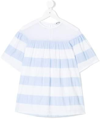 Dondup Kids striped shift dress